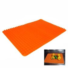 Orange Silicone Roll Sink Drainboard Dish Tray Silicone Mat Kitchen Organizer