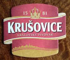 KRUSOVICE BEER MAT -  FROM CZECH REPLUBLIC (ref 15.1)