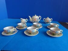 VINTAGE 17 PIECE DOLL/ CHILD CHINA TEA SET- JAPAN
