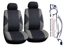 6 PCE Paddington Black/Grey Front Car Seat Covers For Toyota Auris Yaris Corolla