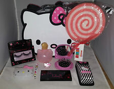 Hello Kitty Large Vanity Case & Make Up Set Full of Hello Kitty Make Up Goodies
