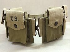 WWII M-1937 Browning Automatic Rifle BAR Magazine Belt