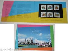 1999 Hong Kong - Singapore Joint Issue Stamp Persentation Pack`,