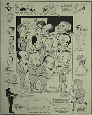RAF Boxing Championship Henlow Wakefield Trophy 1931 Fred May Caricature Article