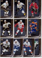 15/16 Upper Deck Shining Stars Center Set Lot of (10) #21-30 Crosby Seguin Toews