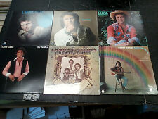Larry Catlin 6 Record LP LOT High Time Love is Just a Game Rain Rainbow *L2