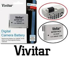 Hi Capacity Vivitar LP-E8 Li-Ion Battery for Canon LP-E8 LPE8