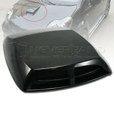 Universal Car decorative Air Flow Intake Scoop Turbo Bonnet Vent Cover hood #a1