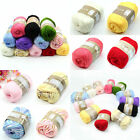High Quality 50g 1 Skein Natural Cotton Silk Baby Sweater Soft Yarn Knitting