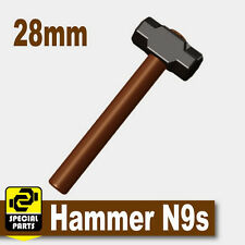 Hammer N9 (W93) Police Sledge Hammer compatible with toy brick minifigures SWAT