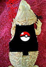 Lil' Bestie Bearded Dragon reptile Harness and Leash POKEMON BALL