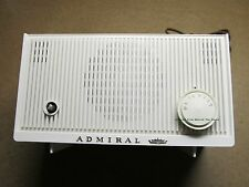 1963 + Vintage Admiral Model YR503 Tube AM Radio Chicago Ilinois IL 60607