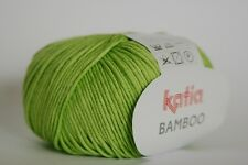1x50g/1.76 oz BAMBOO-Cotton Blend BAMBOO DK Yarn by Katia #31 - Apple