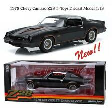 GREENLIGHT 1978 CHEVROLET CAMARO Z/28 WITH T-TOPS DIECAST CAR 1:18 12902 NEW!!!
