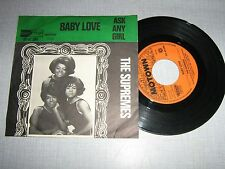 The Supremes 45 tours Hollande Baby love