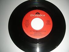 Edwin Drood - Don't Quit While You're Ahead  45 PROMO Polydor Records  NM  1986