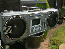 JVC RC-660LB RADIO CASSETTE PLAYER BOOMBOX FULLY WORKING MODEL