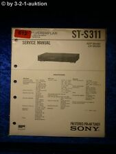 Sony Service Manual ST S311 Tuner  (#0612)