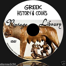 GREEK BYZANTINE COIN & HISTORY 270  EBOOKS  ON DVD roman ancient silver denarius