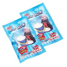 2Pc in Set Kids Baby Fake Magic Instant Snow Artificial Simulation of Snow Decor