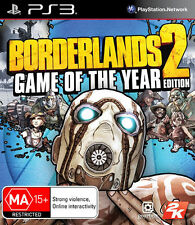 Borderlands 2 Game Of The Year  Edition PS3 NEW