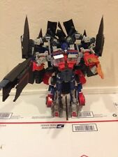 Transformers Revenge Of Fallen Optimus Prime And Jetfire (power Up) Leader class