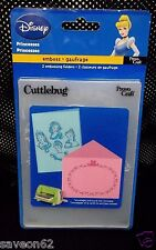 Provo Craft Disney Princesses #371709 Cuttlebug Embossing Folder 2-pack