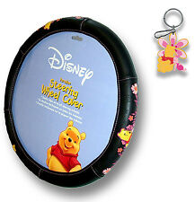 Winnie the Pooh Paradise Steering Wheel Cover W/ Key Chain