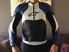 Alpinestars Leather Motorcycle Jacket Size US 42
