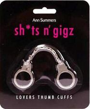 Ann Summers LOVERS THUMB CUFFS Naughty Novelty Toy Gift Sexy @BRAND NEW & PACKED