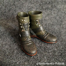 Custom 1/6 Scale Battle Boots For TDKR Bane Bash fit Hot Toys Body#US