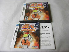 Naruto: Path of the Ninja 2 (Nintendo DS) Replacement Case and Manual NO GAME