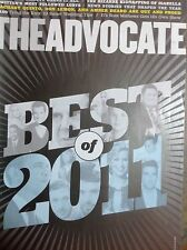 2011 YEAR IN REVIEW Advocate Magazine Dylan McDermott Zachary Quinto