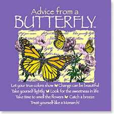 "LEANIN TREE ""Advice From A Butterfly"" ~ #26326 Magnet ~ Take Yourself Lightly ~"