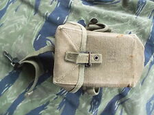 GENUINE ORIGINAL ISSUE US ARMY VIETNAM WAR M56 M 56 WEBBING 30RD M16 MAG POUCH
