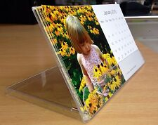 Personalised desk calendar Photograph stand up Calendars 12 different photos