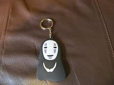 Totoro (No Face) Double Sided Silica Keychain  (NEW)