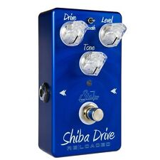 Suhr Shiba Drive Reloaded Overdrive Distortion Guitar Effects Pedal Blue