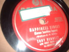 78RPM Columbia 40726 Tony Bennett, Happiness Street / From the Candy Store on V-