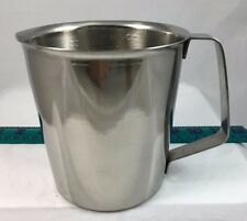 Measuring Cup Pourer Frothing Pitcher 32oz 1000ml Stainless Steel Kitchen NEW