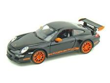 Porsche 911 GT3 RS 1:24 DieCast model Car Welly Die Cast New From Welly Black