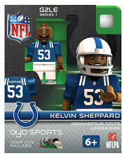 KELVIN SHEPPARD INDIANAPOLIS COLTS G2LE OYO MINIFIGURE LEGO NEW FREE SHIPPING