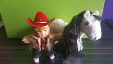 ONLY HEARTS CLUB LI'L KIDS LITTLE SISTER JESSICA DOLL, CHOCOLATE CHIP THE PONY