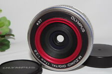 "[Exc++++] Olympus M.Zuiko 17mm f/2.8 Lens For Micro Four Thirds  ""From Japan"""