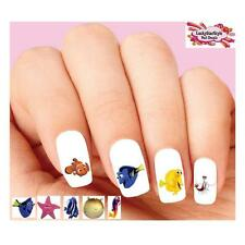 Waterslide Nail Decals Art Set of 20 - Finding Dory Assorted