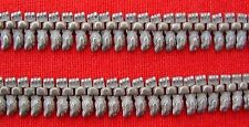 ANCIENT TRIBAL OLD SILVER ANKLET PAIR RAJASTHAN INDIA