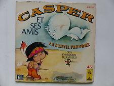 Livre disque Casper Le gentil fantome Dessin animé TV ALB 157
