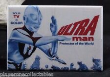 "Ultraman Vintage TV Advertising 2"" X 3"" Fridge / Locker Magnet."