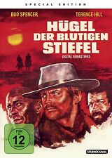 HÜGEL DER BLUTIGEN STIEFEL Remastered Edition BUD SPENCER & Terence Hill DVD Neu