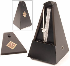 Wittner Traditional Metronome: Black Finished Wood